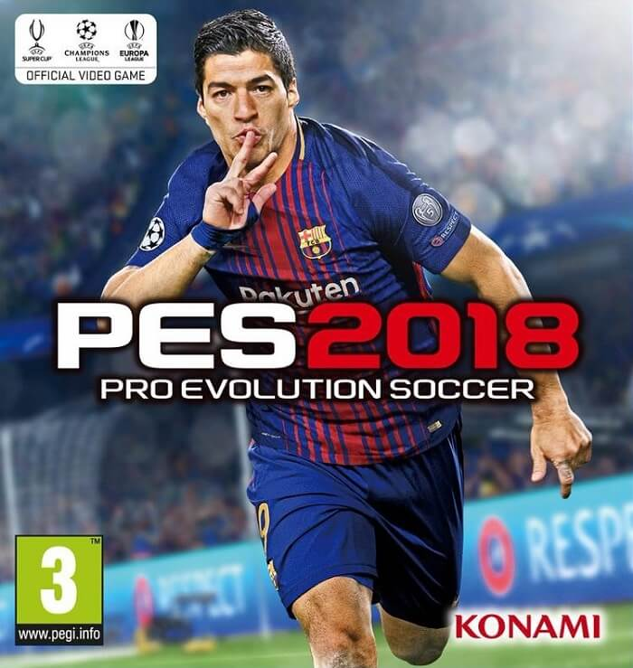 PES 2018 Free Download